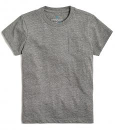 J.Crew Little Boys Grey Pocket T-Shirt