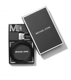 Michael Kors Brown Logo Reversible Two Buckle