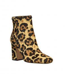 Leopard Print Felicia Booties