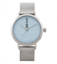 Silver Ritzy Modish Watch