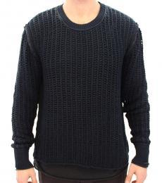 Dolce & Gabbana Blue Runway Netz Sweater
