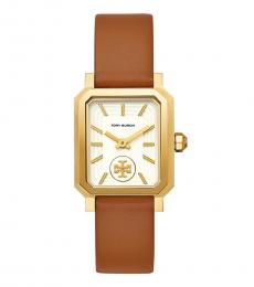 Tory Burch Gold Luggage Exceptional Watch