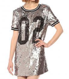 True Religion Gunmetal Sequin Dress