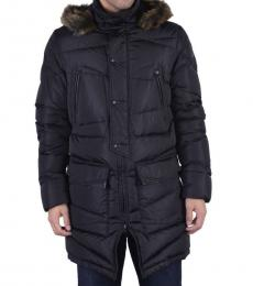 Black Down Parka Jacket