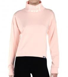 Juicy Couture Sahara Rose French Terry Pullover