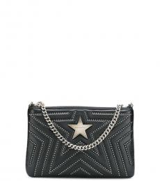 Stella McCartney Black Star Small Shoulder Bag