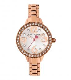 Rose Gold Bracelet Watch