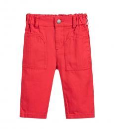 Stella McCartney Baby Boys Red Chuckie Trousers
