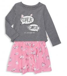 Kate Spade 2 Piece Top/Skirt Set (Little Girls)