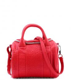 Red Rockie Small Satchel