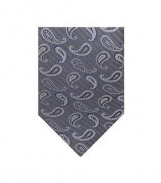 Ted Baker Grey Paisley Silk Tie