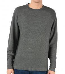 Ermenegildo Zegna Grey Cotton Cashmere Sweatshirt