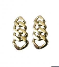 BCBGMaxazria Gold Statement Earrings