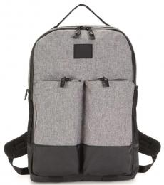 Cole Haan Heathered Grey Sawyer Trail Large Backpack