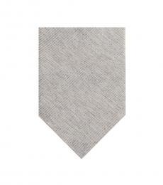 Calvin Klein Iced Grey Woven Tie