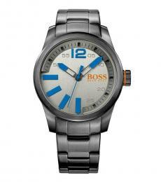 Hugo Boss Grey Silver Dial Watch