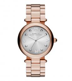 Marc Jacobs Rose Gold Round Watch