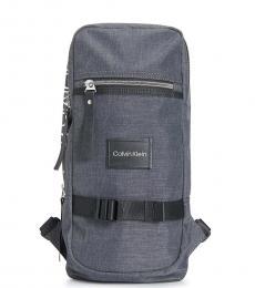 Calvin Klein Slate Byron Medium Sling Backpack