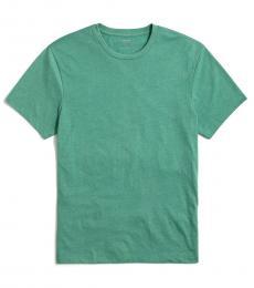 Dark Green Washed Jersey T-Shirt