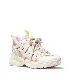 Michael Kors Cream Multi Hero Sneakers