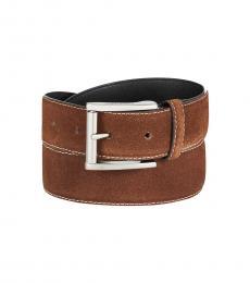Calvin Klein Medium Beige Feather-Edge Modish Belt