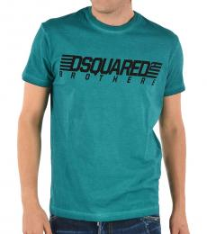 Dsquared2 Teal Cool Fit T-Shirt