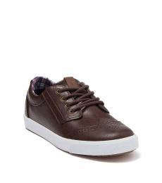 Ben Sherman Boys Brown Jayme Sneaker