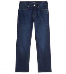 Calvin Klein Boys Austin Dark Blue Slim-Straight Jeans