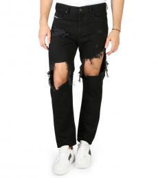 Diesel Black Skinny Fit Jeans