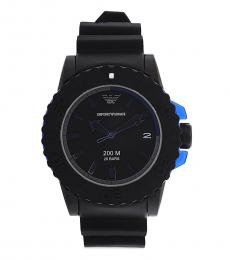 Emporio Armani Black Sportivo Watch