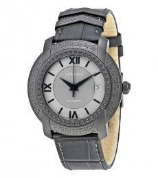 Versace Grey Automatic Unisex Watch