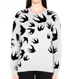 McQ Alexander McQueen Grey Classic Sweatshirt