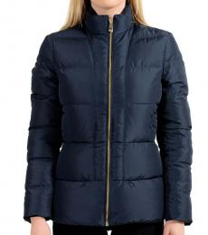 Versace Collection Navy Blue Parka Jacket