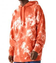 True Religion Orange Tie Dye Hoodie
