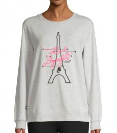 Light Grey Neon Signature Sweatshirt
