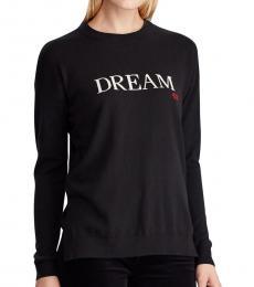 Black Dream Cotton-Blend Sweater