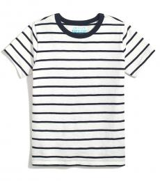 J.Crew Little Boys Ivory Stripe T-Shirt