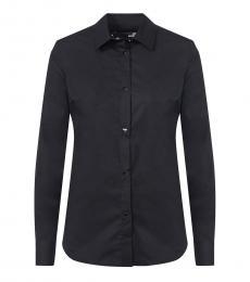 Love Moschino Black Heart Button Down Shirt