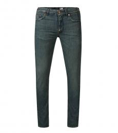 Love Moschino Dark Grey Figure Hugging Cut Jeans