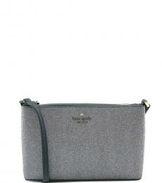 Kate Spade Dusk Navy Joeley Glitter Small Crossbody