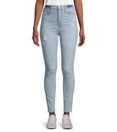 Light Blue Super Skinny-Fit Jeans
