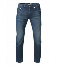 Love Moschino Dark Blue Figure Hugging Cut Jeans