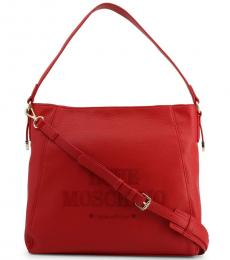 Red Made With Love Large Hobo