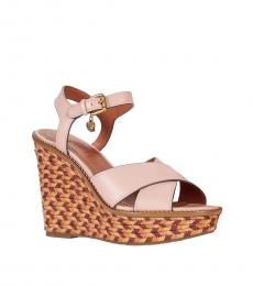 Coach Peony Cross Band High Wedges