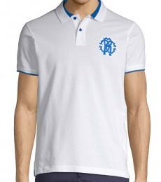 Bianco Logo Crest Polo