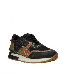 Givenchy Multicolor Floral Print Sneakers