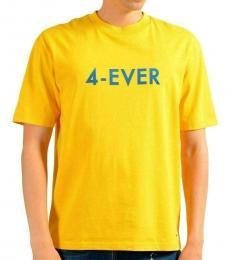 Yellow Crewneck T-Shirt