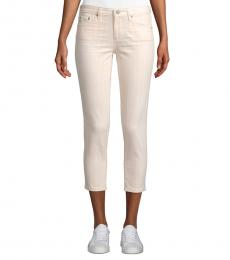 Light Pink Prima Cropped Jeans
