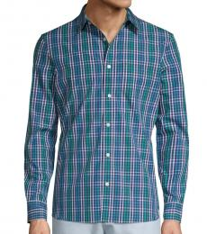 Sky Captain Plaid Shirt