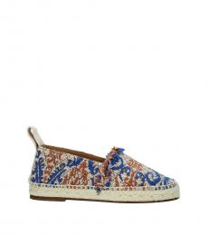 Chloe Multicolor Fabric Espadrilles